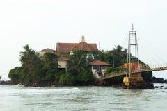 Templo budista de Sri Lanka Foto de archivo libre de regalías