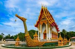 Templo budista de Suphannahong Imagem de Stock