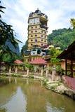 Templo budista de Tambun Tibetian, Perak Imagen de archivo libre de regalías