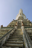 Templo budista de Wat Arun em Bankok, Tailândia Imagem de Stock