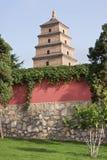 Templo budista del ganso salvaje señal en provincia de Xian, Shanxi, China Fotografía de archivo