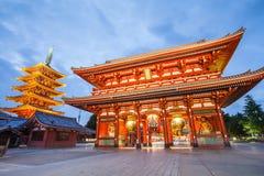 Templo budista del ji del senso de Tokio foto de archivo libre de regalías