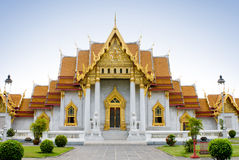 Templo budista elegante Fotografia de Stock Royalty Free