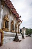 Templo budista em Banguecoque, Tailândia Fotos de Stock
