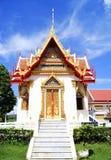 Templo budista em Tailândia foto de stock royalty free