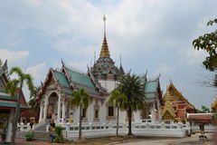 Templo budista em Tailândia fotografia de stock