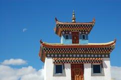 Templo budista em tibet fotografia de stock royalty free