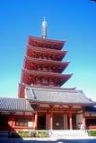Templo budista en Asakusa, Tokio, Japón de Senso Fotos de archivo