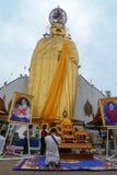 Templo budista en Bangkok Imagen de archivo