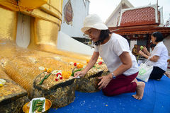 Templo budista en Bangkok Imágenes de archivo libres de regalías
