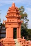Templo budista en Camboya Fotos de archivo