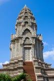 Templo budista en Camboya Foto de archivo