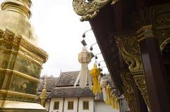 Templo, templo budista en el €Ž de Chiang Mai Thailandâ Fotografía de archivo