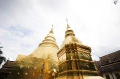 Templo, templo budista en el €Ž de Chiang Mai Thailandâ Imagen de archivo