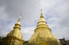 Templo, templo budista en el €Ž de Chiang Mai Thailandâ Fotografía de archivo libre de regalías