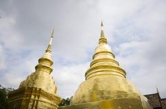 Templo, templo budista en el €Ž de Chiang Mai Thailandâ Foto de archivo