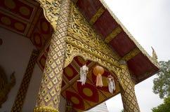 Templo, templo budista en el €Ž de Chiang Mai Thailandâ Imágenes de archivo libres de regalías