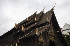 Templo, templo budista en el €Ž de Chiang Mai Thailandâ Fotos de archivo libres de regalías