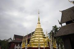 Templo, templo budista en el €Ž de Chiang Mai Thailandâ Imagenes de archivo