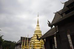 Templo, templo budista en el €Ž de Chiang Mai Thailandâ Foto de archivo libre de regalías