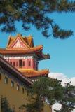 Templo budista en la ciudad de Hunchun China Imagen de archivo libre de regalías