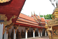 Templo budista en la isla Phuket de Tailandia Imágenes de archivo libres de regalías