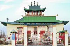 Templo budista en Liman Imagen de archivo libre de regalías