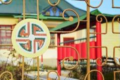Templo budista en Liman Imagen de archivo