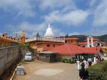 Templo budista en Sri Lanka Foto de archivo libre de regalías