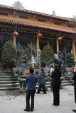 Templo budista - Hanoi - Vietname Foto de Stock
