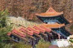 Templo budista Jing y convento Fotografía de archivo