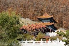 Templo budista Jing y convento Fotografía de archivo libre de regalías