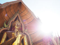 Templo budista Kanchanaburi Imagen de archivo