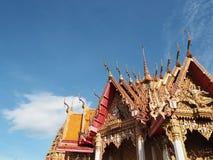 Templo budista Kanchanaburi Imagenes de archivo