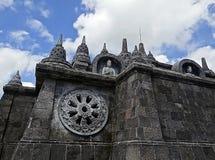 Templo budista na ilha de Bali Fotos de Stock Royalty Free