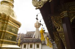 Templo, templo budista no €Ž de Chiang Mai Thailandâ Fotografia de Stock