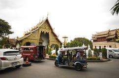 Templo, templo budista no €Ž de Chiang Mai Thailandâ Fotos de Stock Royalty Free