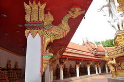 Templo budista no console Phuket de Tailândia Imagens de Stock Royalty Free