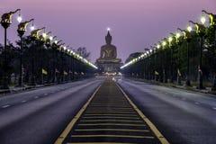 Templo budista Singburi imagen de archivo libre de regalías