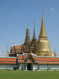 Templo budista tailandés fotografía de archivo