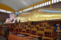 Templo budista tailandés en Penang Malasia fotografía de archivo libre de regalías