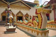 Templo budista tailandés (Wat Chaiyamangalaram), Georgetown Fotografía de archivo libre de regalías