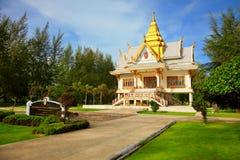 Templo budista - Tailandia, Phuket Foto de archivo libre de regalías