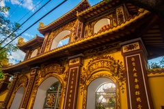 Templo budista Vietnam Da Nang Imagen de archivo libre de regalías