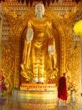 Templo burmese de Dhamikarama em Penang, Malásia Imagem de Stock