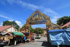 Templo burmese de Dharmikarama em malaysia Imagem de Stock