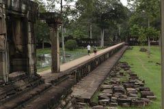 Templo cambodia de Angkor foto de stock