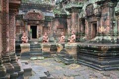 Templo cambojano Fotografia de Stock