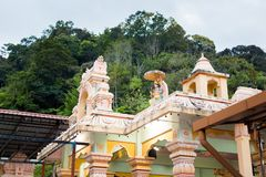 Templo Cameron Highlands Malaysia do Hinduísmo imagem de stock royalty free