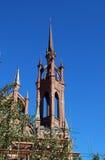 Templo católico Roman Catholic Parish do coração abençoado de Jesus no Samara imagem de stock royalty free